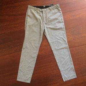 Men's H&M Dress Pants Heather Grey 34R NWOT
